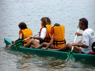 Caiaque na Ilha Grande