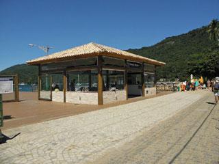 Cais de Turismo - Abraão.