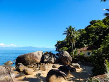 Trilha T07 - Praia de Itaguaçu - Ilha Grande - RJ