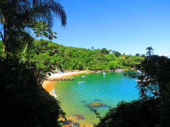 Trilha T07 - Praia Grande de Araçatiba à Praia Vermelha - Ilha Grande - RJ