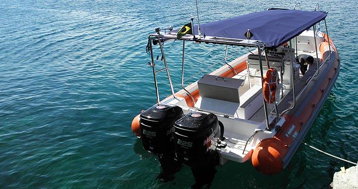 Flexboat para Araçatiba, Ilha Grande.