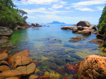 Trilha T12 – Praia do Jurubá - Ilha Grande - RJ