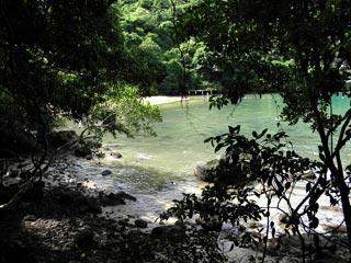 Praia da Crena - Enseada do Abraão - Ilha Grande - RJ