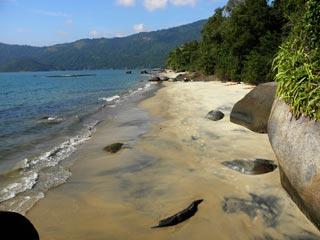 Praia Preta - Enseada do Abraão - Ilha Grande