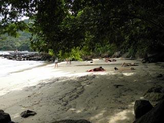 Praia da bica - enseada do Abraão - Ilha Grande - RJ