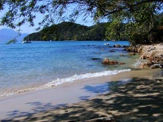 Praia da bica, ens do Abraão - Ilha Grande - RJ