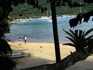 Praia comprida - enseada do Abraão - Ilha Grande - RJ