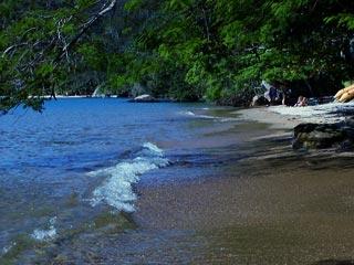 Praia comprida, ens do Abraão - Ilha Grande - RJ