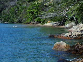 Praia Comprida - Ens. do Abraão - Ilha Grande - RJ