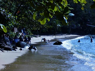 Praia do Abraãozinho - Ens. do Abraão - Ilha Grande - RJ