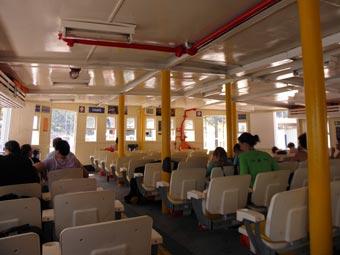 CCR-barcas para Vila do Abraão - Ilha Grande.
