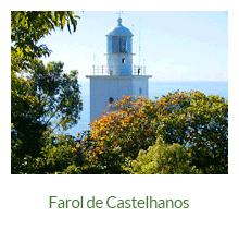 Farol de Castelhanos - atrativos naturais - Ilha Grande - RJ