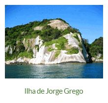 Ilha de Jorge Grego - atrativos naturais - Ilha Grande - RJ