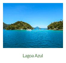 Lagoa Azul - atrativos naturais - Ilha Grande - RJ