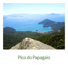 Pico do Papagaio - atrativos naturais - Ilha Grande - RJ