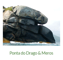 Ponta do Drago - atrativos naturais - Ilha Grande - RJ