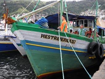 Embarcação para Provetá.