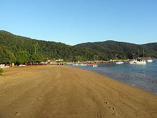 Praia do Abraão - Ilha Grande - RJ