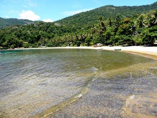 Praia da Tapera - Sitio Forte - Ilha Grande.