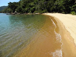 Praia de Ubatubinha - Sitio Forte Ilha Grande - RJ
