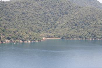 Araçatibinha vista do Mirante da Lagoa Verde
