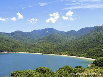 Vista espetacular da Praia de Parnaioca