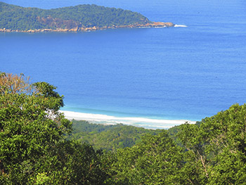 Praia de Lopes Mendes vista do mirante