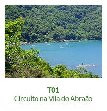 Trilhas - T01 - Circuito na Vila do Abraão - Ilha Grande - RJ