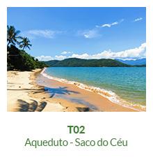 Trilhas - T02 - Aqueduto - Saco do Céu - Ilha Grande - RJ