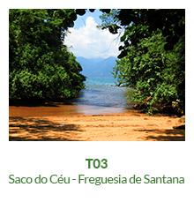 Trilha T03 – Saco do Céu – Freguesia de Santana - Ilha Grande - RJ