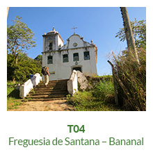 Trilha T04 – Freguesia de Santana – Bananal - Ilha Grande - RJ