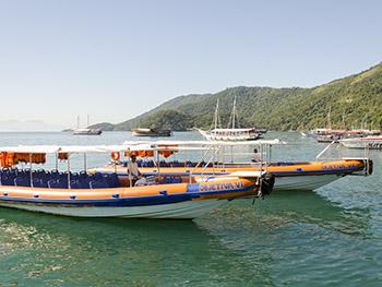 Objetiva Tour - Flexboat - Conceição de Jacareí x Vila do Abraão, barco rápido