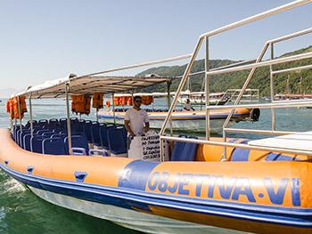 Flexboat para Vila do Abraão, barco rápido