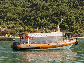 Flexboat para Ilha Grande de Conceição de Jacareí, barco rápido