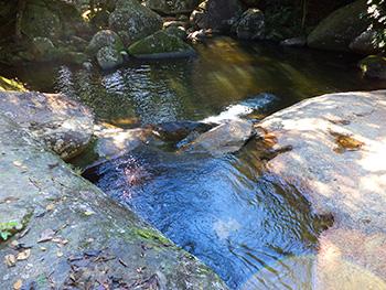 Poção com águas calmas e cristalinas - Abraão - Ilha Grande - RJ