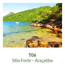 Trilha T06 – Sítio Forte – Araçatiba - Ilha Grande - RJ