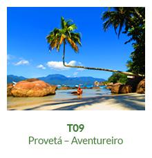 Trilha T09 – Provetá – Aventureiro - Ilha Grande - RJ