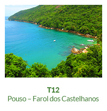 Trilha T12 – Pouso – Farol dos Castelhanos - Ilha Grande - RJ