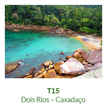 Trilha T15 – Dois Rios – Caxadaço - Ilha Grande - RJ