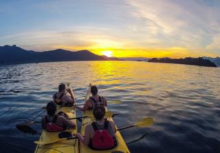 Itinerarios personalizados - Puesta de sol en Ilha Grande