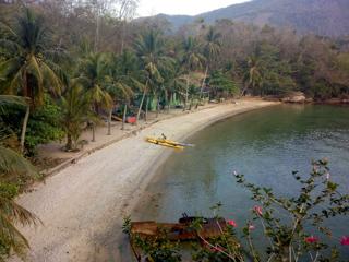 Playas desérticas y semidesérticas son parte del passeo