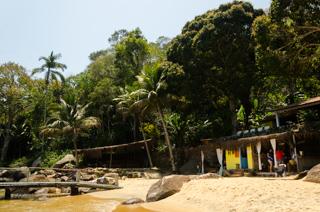 Praia da Cachoeira - Canto direito da praia