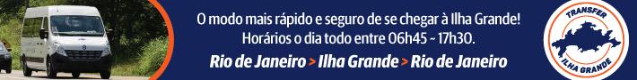 Transfer Ilha Grande | Saídas diárias da Zona Sul, Aeroportos e Centro do Rio de Janeiro