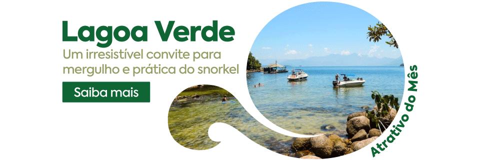 Lagoa Verde Ilha Grande RJ