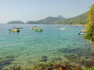 Toda a região é ótima para o snorkel