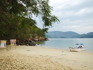 Equipe Feiticeira - O serviço de taxi boat mais antigo dessa praia