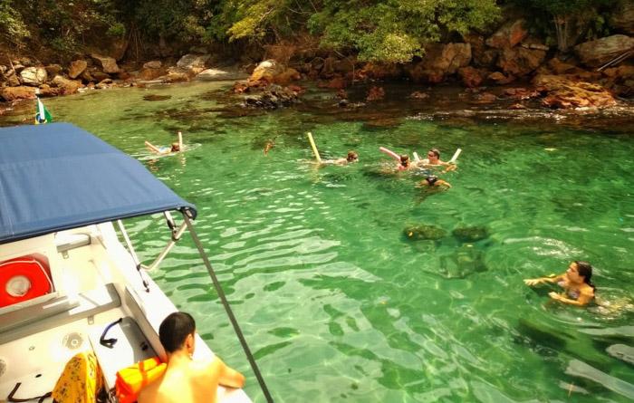 Fotos do É Bença Tour taxi boat Ilha Grande