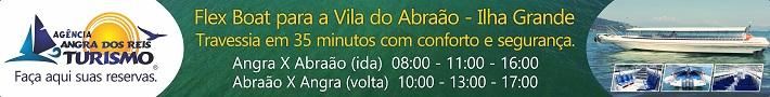 AngraFlex de Angra dos Reis para Vila do Abraão - Ilha Grande.