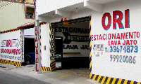 Estacionamento privado em Angra dos Reis.